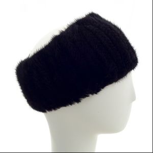 Surell Fur ear muff headband